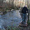 Chantier aménagement rivière