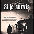 Si je survis - moriz scheyer - editions flammarion