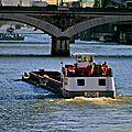 Trafic sur Seine.