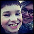 claudia et son fils