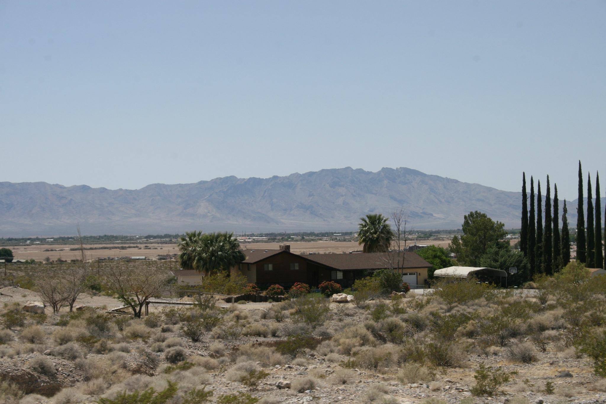 En route vers Death Valley