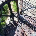 Arcachon-observatoire Ste Cécile-escalier