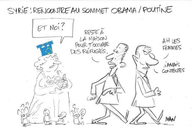 usa russie europe daech syrie humour