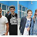 <b>sebastien</b> <b>loeb</b> et steve maire avec leur fan a haguenau