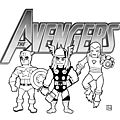 Avengers by brice