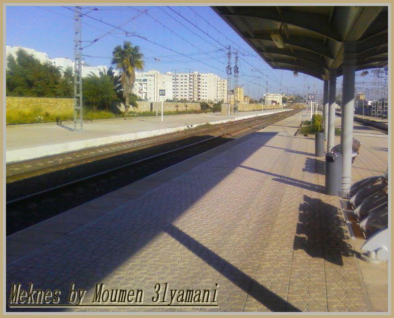 Quai nr 2 Gare Meknes Ville