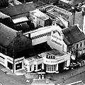 Fourmies - le centre-ville des années 50