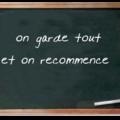 Fiche hebdomadaire - aristide denis du mardi 10 novembre 2009