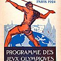 Jeux olympiques 1924 à paris