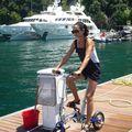 vélo de compèt pliable