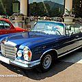 Mercedes 280 SE cabriolet 3