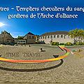 <b>Chartres</b> – Templiers chevaliers du sangreal, gardiens de l'Arche d'alliance
