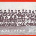Saison 1981 1982 Final Crabos 6/6/82 Ste Foy Beziers