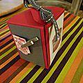 Autre boite réalisée avec l'insta'enveloppe