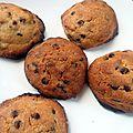 Cookies classiques aux pépites, recette américaine