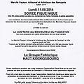 Dernier marché du terroir à dambach-la-ville