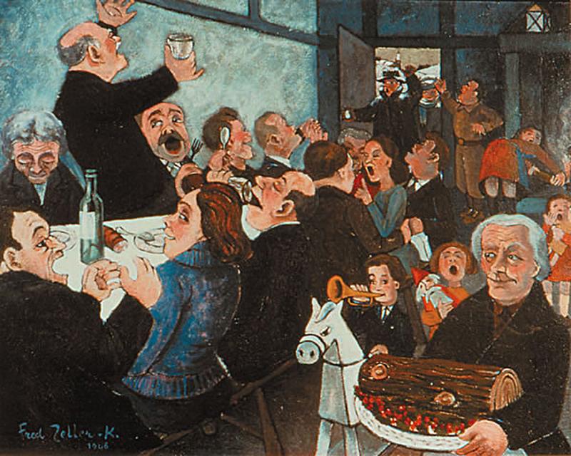 1946, Le banquet de Noël