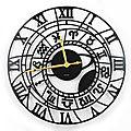 Horloge géante ZODIAQUE 80 cm