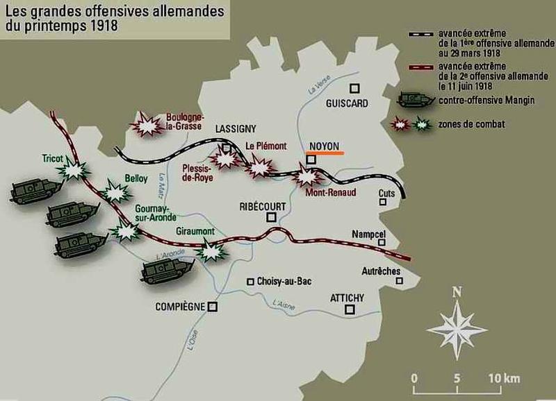 Noyon 1918