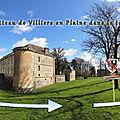 Le Château de Villiers en Plaine dans le temps
