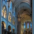 Lourdes, église du Sacré Coeur, intérieur
