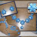 Une parure toute en bleue.. pour moi!!