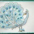 14 Paon Echange blog Coyotte 15 Juin 2013 envoyée à Lutin Bleu
