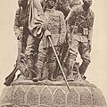 1924: Inauguration du <b>Monument</b> aux <b>Morts</b> de l'Armée noire, à Reims