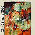 Christine LANCE : l'abstraction lyrique ANNULATION COVID 19