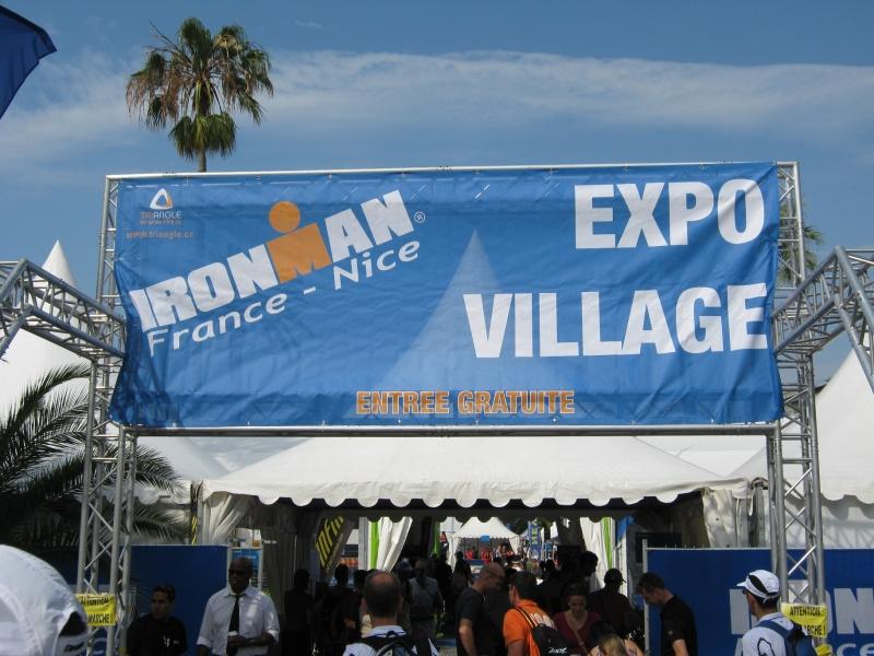 L'entrée du village expo