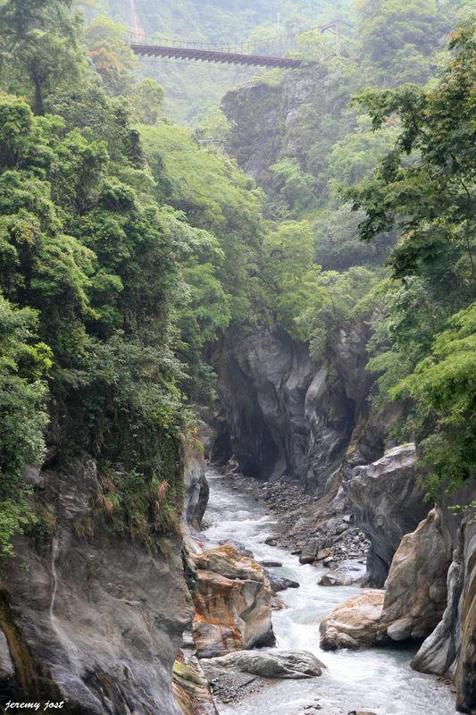 pont suspendu taroko
