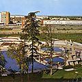 Montauban, la Piscine et le lycée Antoine Bourdelle