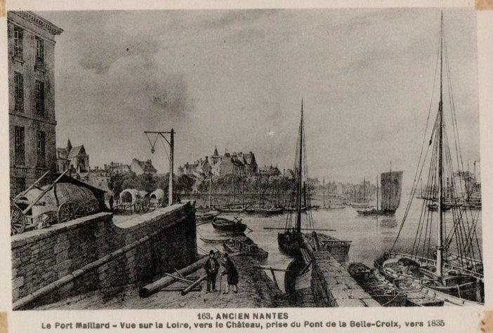 Ancien Nantes - Port Maillard