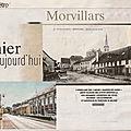 Rubrique ''D'hier à aujourd'hui'' dans Le Mag ER : Morvillars (90)