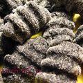 Gnocchi noirs et pesto menthe-amandes-citron