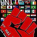 1er mai, journée internationale de lutte des travailleurs : tous dans les rues