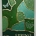 Carte postale vision de printemps