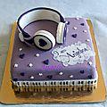 Gâteau violetta - casque