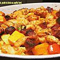 1117 Légumes confits, poulet et chorizo au paprika fumé 2