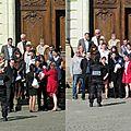 Une photo de mariage prise à rennes le 20 avril 2013