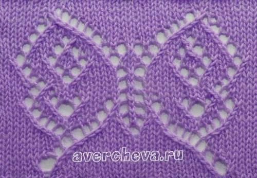 Faire un papillon point ajour le paradis de valou - Point de tricot ajoure pour echarpe ...