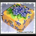 boite Bouquet de violette