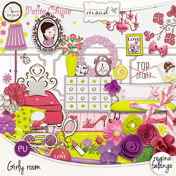 GIRLY ROOM POUR LES CANAILLES !