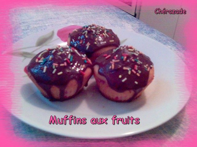 Muffins aux fruits
