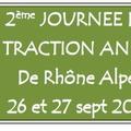 11,12 et 13 septembre 2015 - Objectif des Journées de la traction animale en Rhône Alpes - Siez (Haute-Savoie)