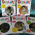 Lecture: un magazine d'art pour les 4 - 7 ans merci olalar