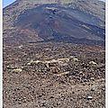 Entrée dans le parc national du <b>Teide</b>