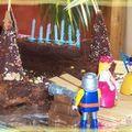 Gâteau d'anniversaire des enfants