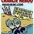 Malaysia Airlines, l'espoir - par Riss - Charlie Hebdo N°1202 - 5 août 2015