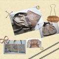 échange n°4: pour Karen, un sac de plage en lin et vichy